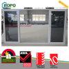 UPVC/perfil de PVC Cuarto de baño puerta corrediza de vidrio