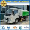 Le bras de Foton de 3 roues de T Samll 6 tombent le camion d'ordures camion de bras de crochet de 3 mètres cubes