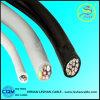 CAT6 pvc van de Kern van het koper isoleerde de de Flexibele Draad/Kabel van de Controle