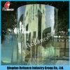 10мм изогнутая из закаленного стекла для ванной комнаты или здания