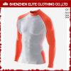 Orange Blanc Fashion Manches Longues Rash Guards (ELTRGI-9)