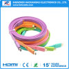 Цветастый кабель DHL V1.4 1080P HDMI плоский