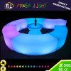 Éclairage LED imperméable à l'eau en plastique vers le haut des meubles de patio