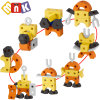 Brinquedos educativos DIY brinquedo de espuma 19PCS 4 em 1 bloco EVA 10250558)