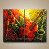 Canvas (KLMP2-0001)の現代Art Abstract Music Painting