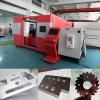 Machine de découpage efficace de laser de fibre d'acier inoxydable d'acier du carbone