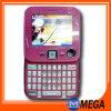 Telefone móvel giratório da tevê do teclado Qwerty da faixa do quadrilátero (MG-E81)