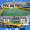 La maggior parte della arena gonfiabile gonfiabile popolare di gioco del calcio della bolla del campo di calcio dell'acqua