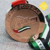 Kundenspezifischer Qualitäts-Preis sterben Form-laufende Metalldecklack-Leerzeichen-Medaille