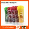 Het gezicht & het Lichaam schrobben Kosmetische PE 250ml Verpakking
