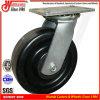 6 phenoplastische Schwenker-Hochleistungsfußrollen des Rad- X2.5
