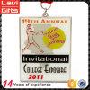 Neueste kundenspezifische Softball-Baseball-Metallsport-Medaille Medaling mit Farbband
