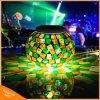 Angeschaltenes nachladbares Nachtsolarlicht der Mosaik-Glas-änderndes Tisch-Lampen-LED