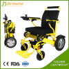 Einfach das Aluminium tragen, das hellen elektrischen Rollstuhl faltet