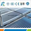 Wärme-Rohr-Sonnenkollektor mit schwarzer Farben-Aluminium-Verteilerleitung
