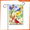 高品質によってカスタマイズされる屋外の装飾的な飛行の印刷の鳥の画像の庭のフラグ