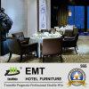 Restaurante del hotel cinco estrellas que cena el conjunto de los muebles (EMT-HTB06-1)
