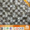Il nuovo disegno placcatura dorata di fusione Mosaico di vetro (H623002)