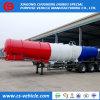 Tri de Assen Geconcentreerde Aanhangwagen van de Tank van het Zwavelzuur Chemische 18m3 voor Zambia
