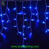 Luzes ao ar livre do sincelo do diodo emissor de luz do Natal da decoração do Xmas