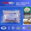 Протеин сои поставщика всего цены качества еды золотистый изолированный ISP