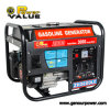 gerador real 168f 1 da gasolina do alternador do cobre do poder avaliado de 2kw 2000W