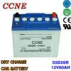 12V 60ah 55D26r N50z trockene Zellen-Autobatterie für LKW-Großverkauf