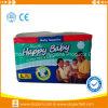 カラーの幸せな赤ん坊のおむつは中国の工場から印刷した
