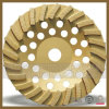 Stone Concrete를 위한 터보 Diamond Grinding Plate Disc