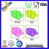 Moule de gâteau de silicone de forme de coeur de moules de silicone de FDA&LFGB