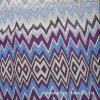 Tecido de impressão de mão de seda Habotai