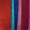 El cuero sintetizado de la PU del brillo caliente de la venta para la danza calza Hw-1957