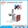 Широко используемая машина маркировки лазера волокна металла & пластмассы 20W портативная