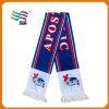 Comprimento personalizado lenço Jacquard para os fãs de futebol