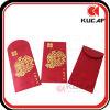 Bienvenido rectángulo chino de encargo del Año Nuevo sobre rojo