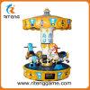 Petits joyeux vont machine de jeu de parc d'attractions de rond