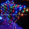Decorazione netta di festa dell'indicatore luminoso della maglia del LED