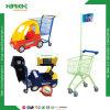 子供の食料雑貨のプラスチック金属の買物車