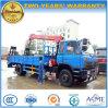 Dongfeng 4*2 4 toneladas de grúa telescópica montada en 8 toneladas del cargador de carro del camión