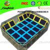 Trampoline Manufacture TUV Certified Kids Indoor Trampoline Bed für Sale