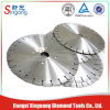 350m m Air Saw Blades con 24 Teeth para Granite Cutting