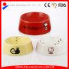 Ciotole di ceramica belle dell'animale domestico, ciotole di ceramica del cane, ciotola di ceramica del gatto