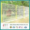 PVC에 의하여 입히는 3D 철망사 담에 의하여 용접되는 정원 담 위원회