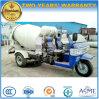 Petit camion de béton du m3 2 de tricycle de colle de camion pratique de mélangeur
