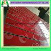 MDF fendu avec profils en aluminium pour la pendaison de produits en supermarché
