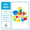 De aangepaste Plastic Delen van de Vorm van de Injectie van het Speelgoed van de Jonge geitjes/van de Kinderen van Punten Plastic