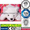 Orso polare della pelliccia del CE dell'animale farcito del giocattolo di lusso della peluche