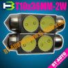 Auto LEIDENE Lamp T10*36mm 2W