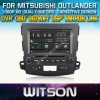 三菱Outlander 2006年- 2012年のためのWitson Car DVD Car DVD GPS 1080P DSP Capactive Screen WiFi 3G Front DVR Camera