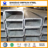 Tubo de acero rectangular galvanizado sumergido caliente de Q235 Ss400 A36